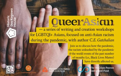Historic Joy Kogawa House to host QueerAsian workshops