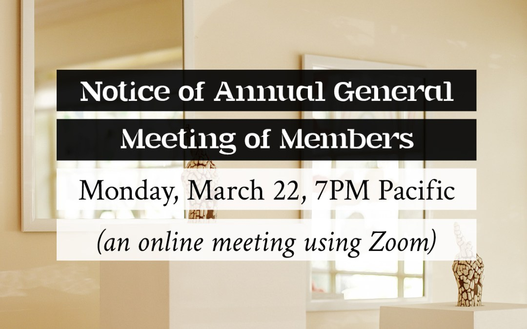 Annual General Meeting of Members