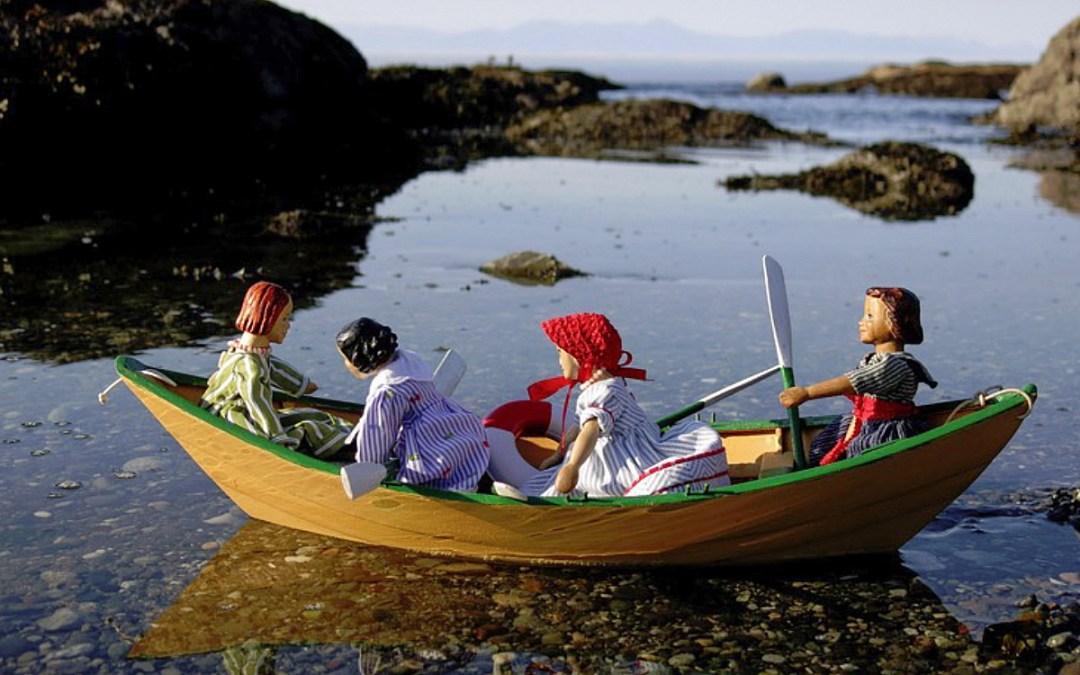 Quimper Hitty Wood Dolls by Kjerstin Mackie