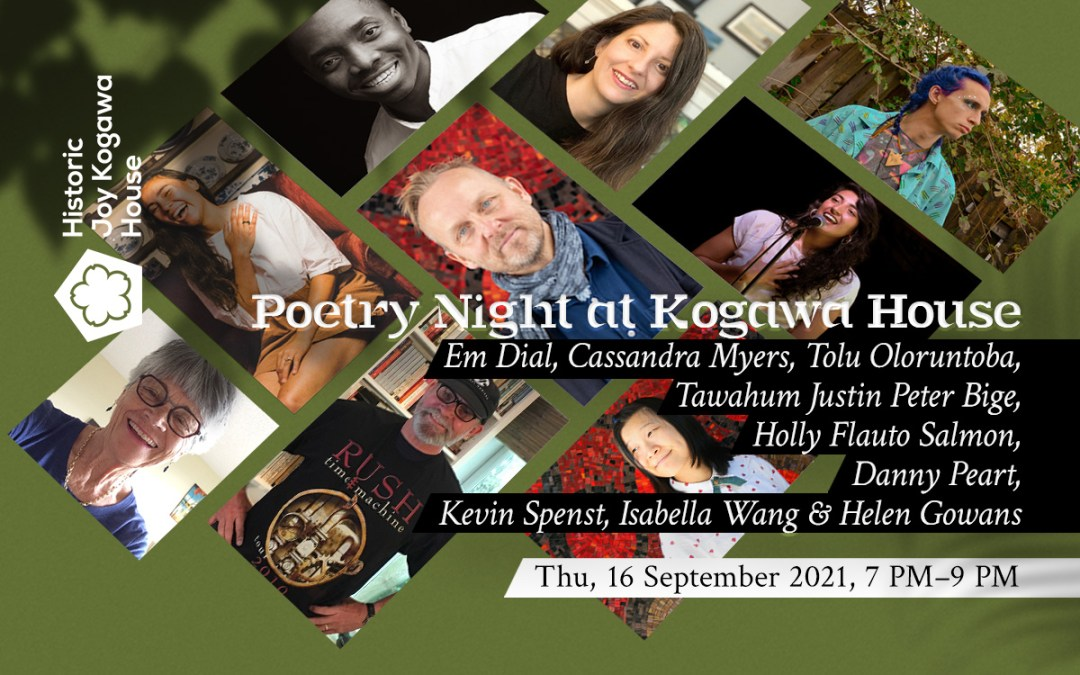 Poetry Night at Kogawa House