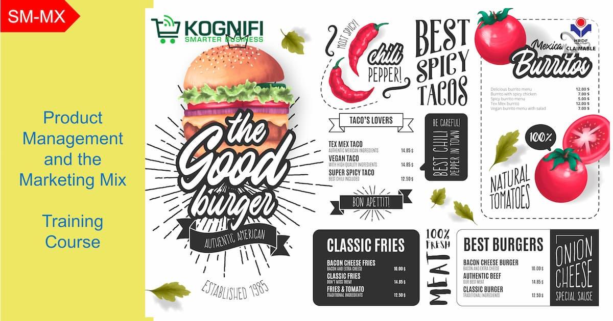 Pengurusan produk dan kursus latihan campuran pemasaran yang dituntut oleh KWKOGNIFI