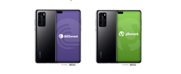 Three billion users of Huawei will gain access to BitTorrent applications