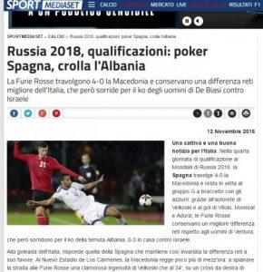 Mediat e huaja për ndeshjen: Izraeli fitoi falë gabimeve të shqiptarëve