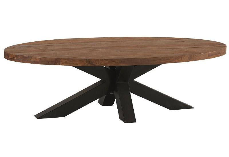 table basse ovale l 137 cm bailey casita koh deco