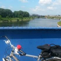 Auf dem Ruhrwehr