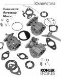 Kohler Carburetor Service Parts List : Kohler Engines and