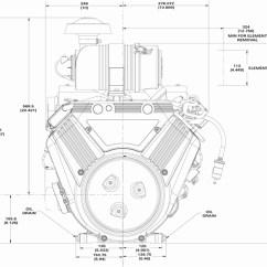 Dual Alternator Wiring Diagram Usb Cable Briggs & Stratton Engine 613477-3076-j1 35 Hp Vanguard 1 1/8 Cs - Opeengines.com