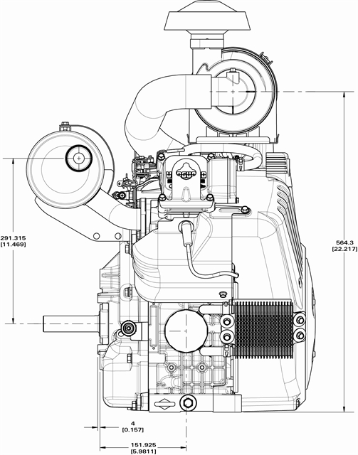 briggs amp stratton engine diagram 1972 vw beetle ignition switch wiring & 613477-3076-j1 35 hp vanguard 1 1/8 cs - opeengines.com
