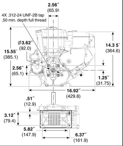 Briggs & Stratton 15C134-3023-F8 Snow Blower Engine 250cc