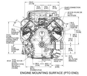 Kohler Engine ZT7403013 Confidant 25 hp 747cc Kubota  OPEengines