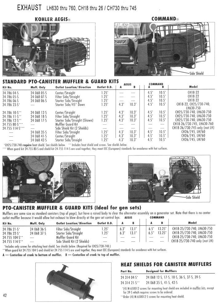 kohler commander 14 wiring diagram
