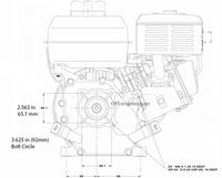 Briggs & Stratton Engine 130G32-0022-F1 9.50 Gross Torque