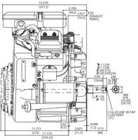 Briggs & Stratton Engine 386777-3036-G1 23 hp Vanguard