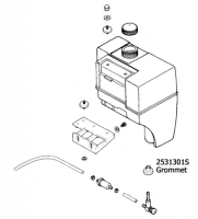 GROMMET FUEL TANK 2531301 [2531301S] : Kohler Engines and