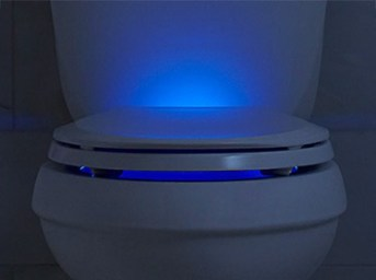 Q3, Kohler lighted toilet seat