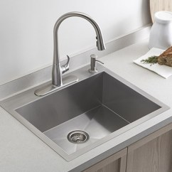 Single Sink Kitchen Cost Of New Cabinets Which Is More Desirable Or Double General Chit Chat