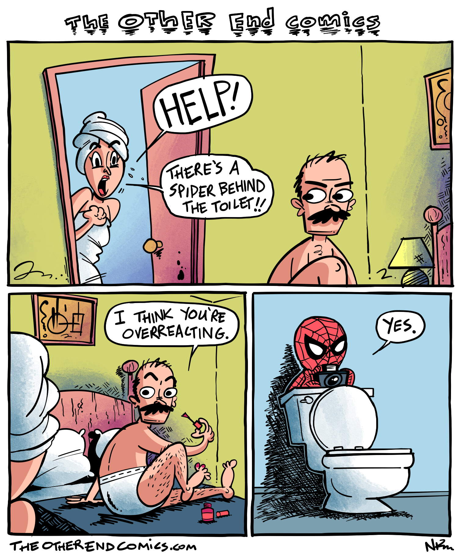 Spider-Man is more afraid of you than you are of him