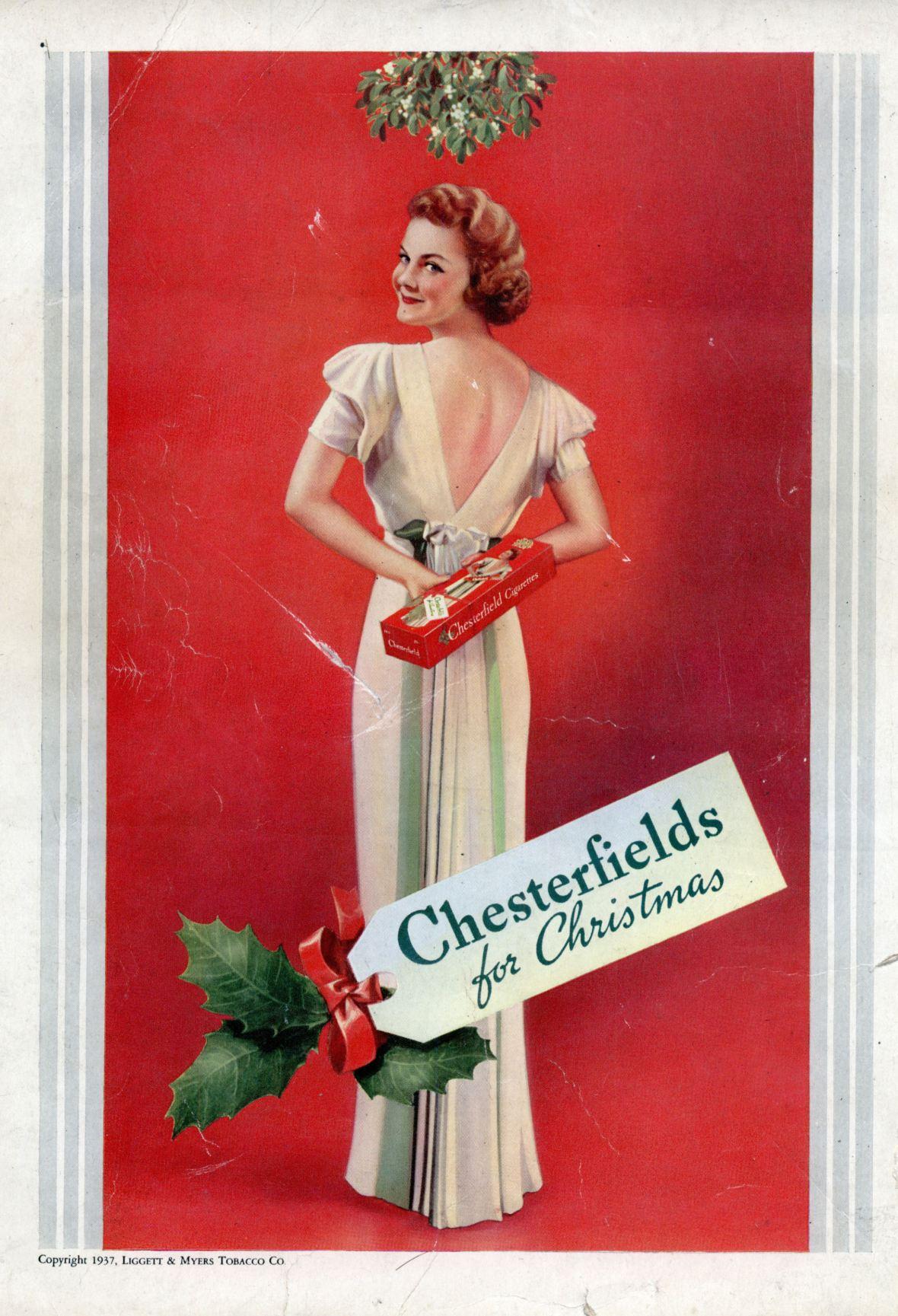 Chesterfield Cigarettes - 1937