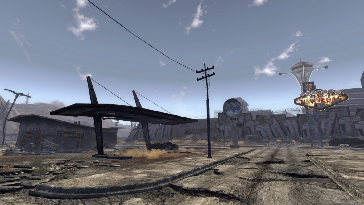 Poseidon filling station in 'Fallout: New Vegas'