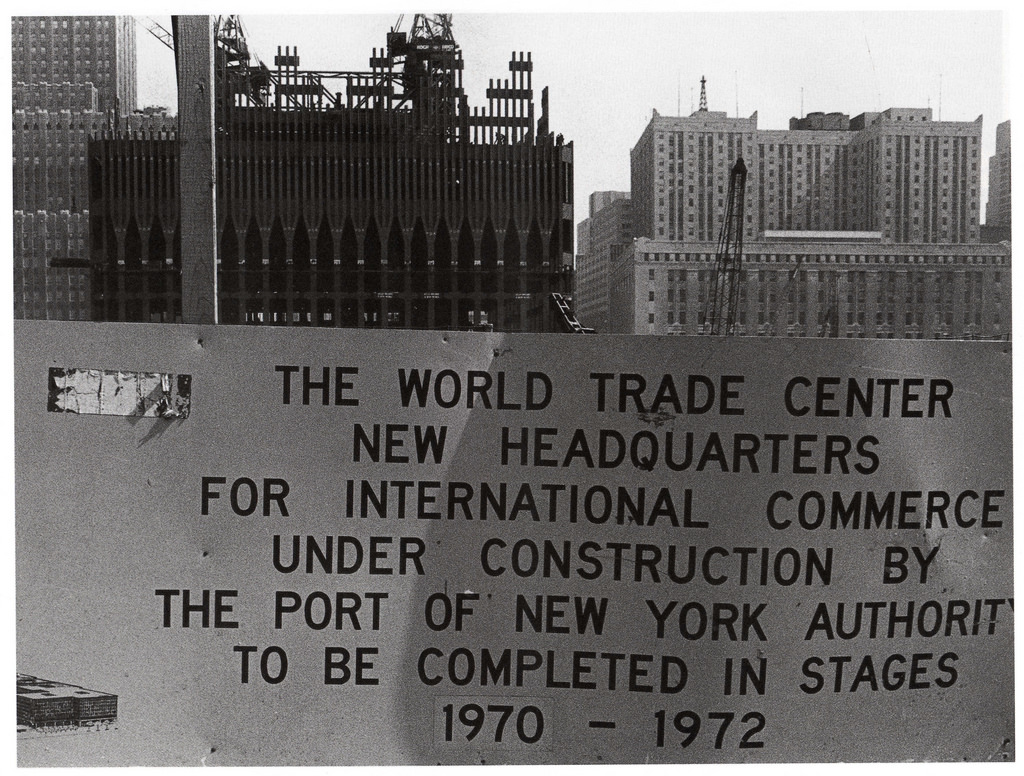 World Trade Center - New York City, New York U.S.A. - April 1969
