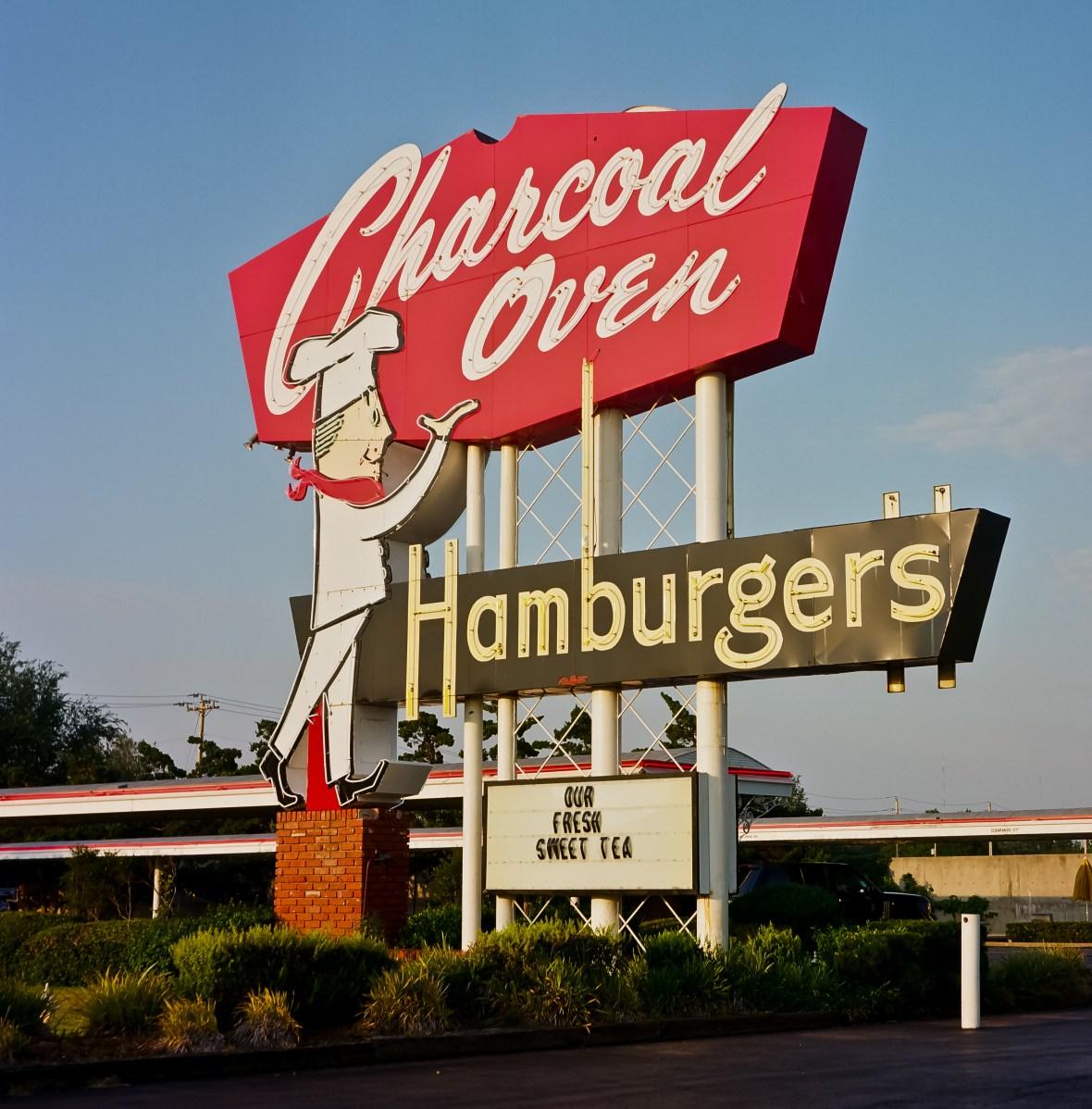 Charcoal Oven Hamburgers - Oklahoma City, Oklahoma U.S.A. - September 29, 2011