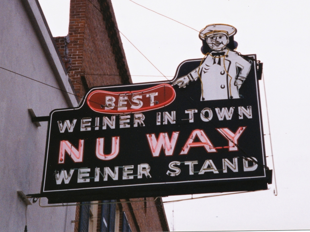 Nu-Way Weiner Stand - 430 Cotton Avenue, Macon, Georgia U.S.A. - December 2000