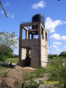 Wasserspeicher des Mosambikprojekt