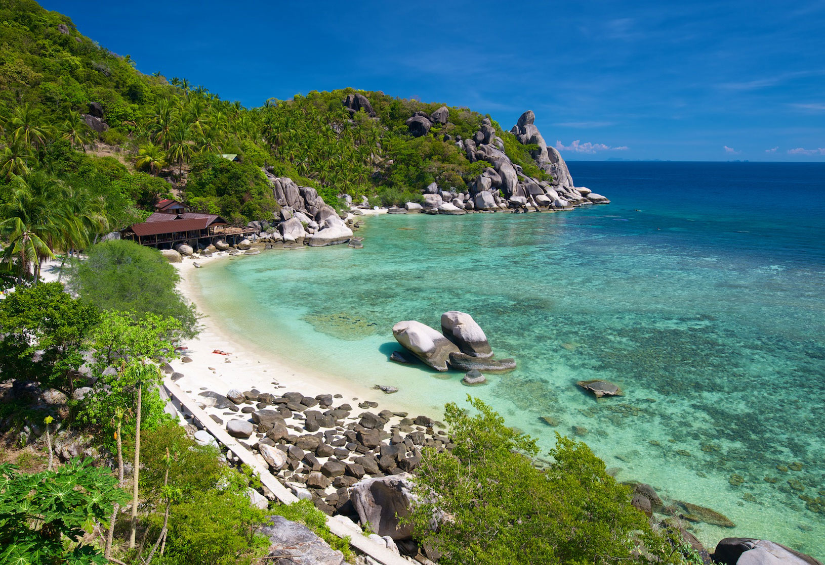 Freedom Beach Koh Tao  KOH TAO  a Complete Guide