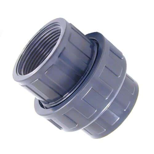 PVC Verschraubung / Kupplung 2 x Innengewinde