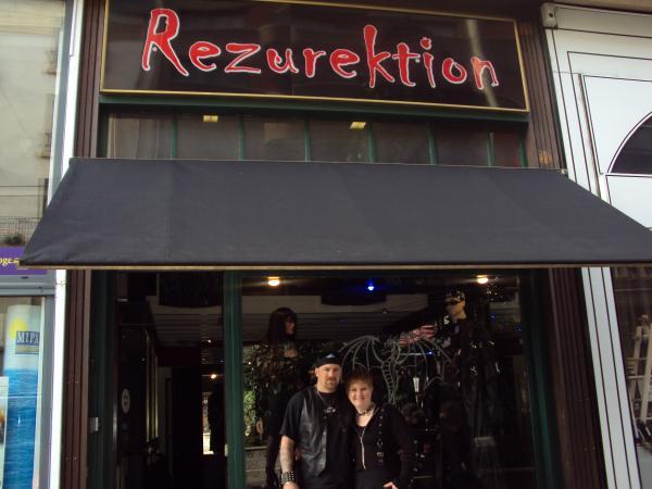 Rezurektion boutique gothique punk mtal  Limoges 87000