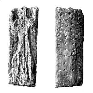 tavoletta di osso di mammuth orione