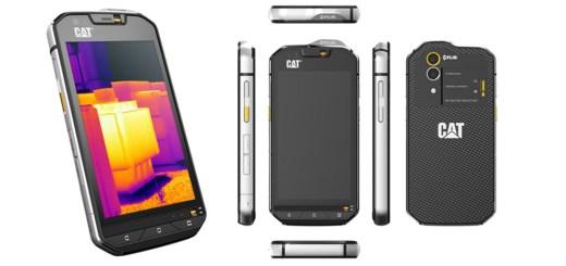 smartphone con termocamera