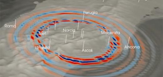propagazione di un onda sismica