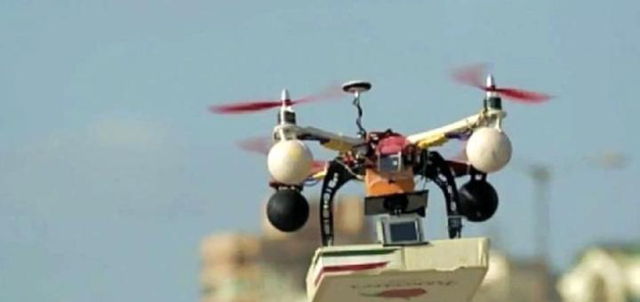 Consegna pizza con drone