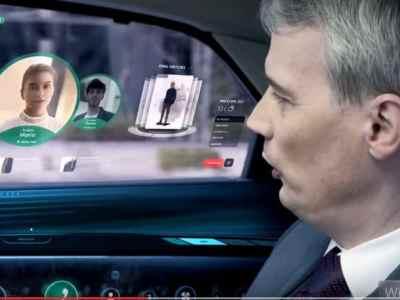 Dal futuro la televisione trasparente e monitor iper tecnologici