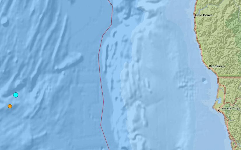 USGS Earthquake Map_351585