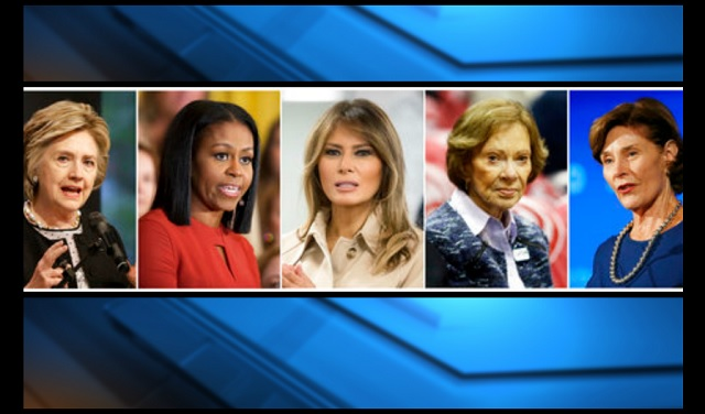 first ladies hillary michelle melania rosalynn laura 06182018 ap_1529365567346.jpg.jpg