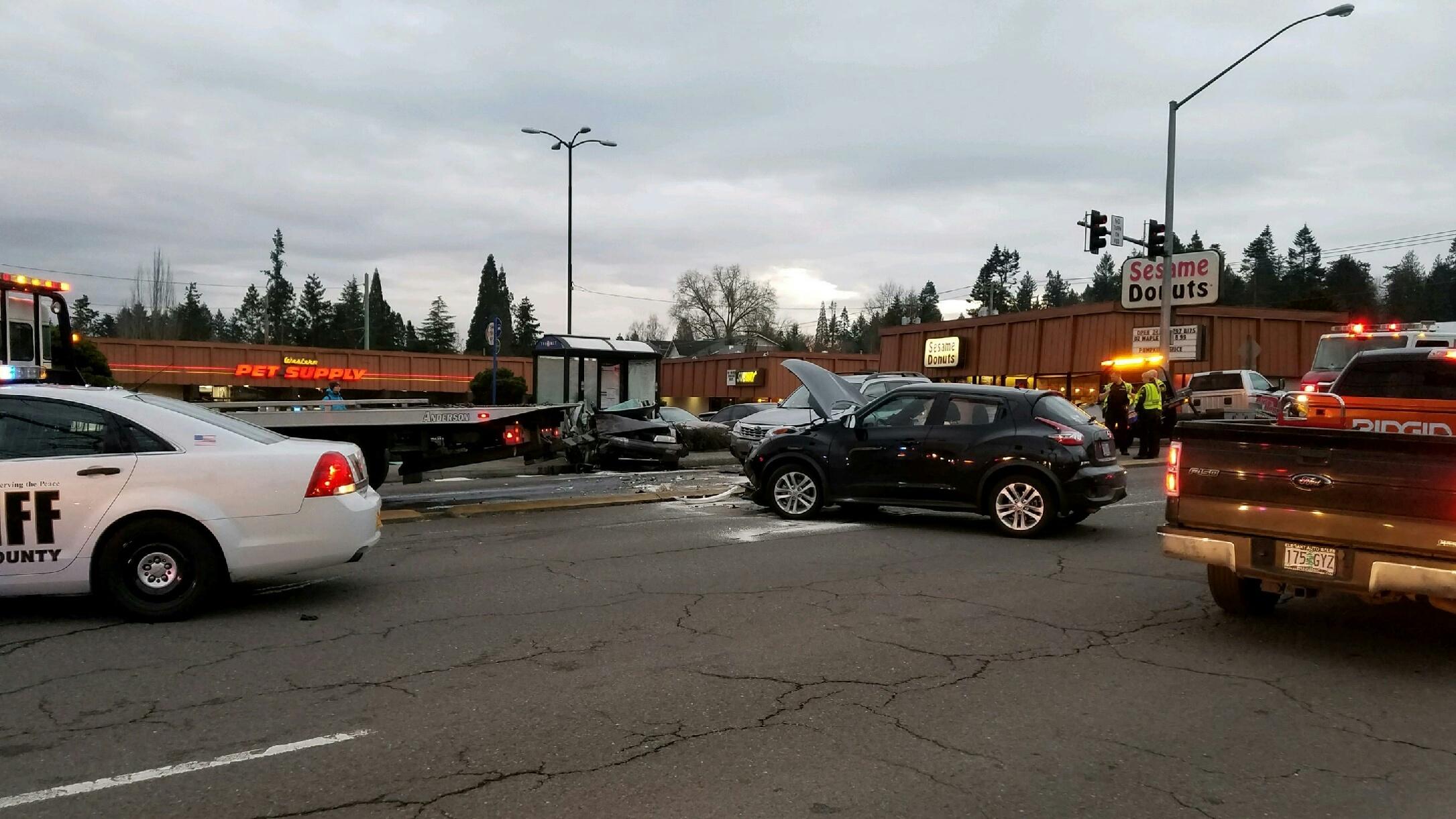 Beaverton-Hillsdale Highway  crash