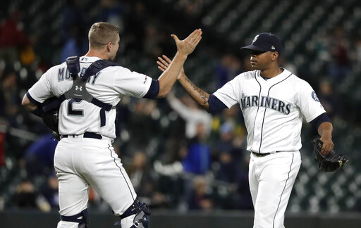 Athletics Mariners Baseball_1557907603231