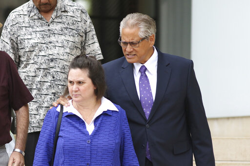 Hawaii power couple convicted in plot to frame a relative