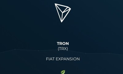 Bitfinex adds JPY, GBP and EUR trade pairs to TRON (TRX)