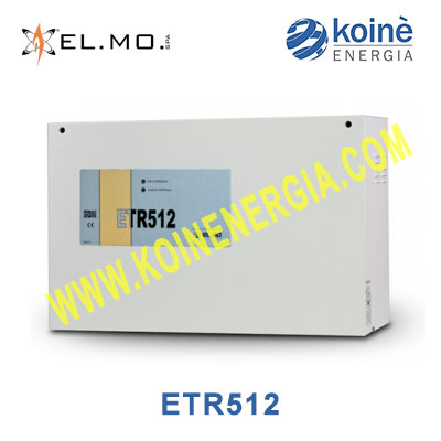 elmo etr512 centrale allarme