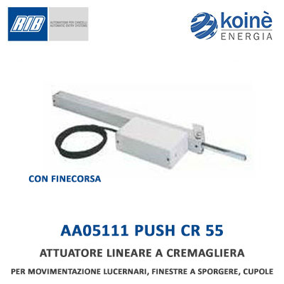AA05111 PUSH CR 55 RIB