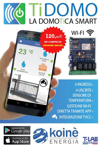 Scheda wi-fi Tidomo