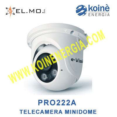 PRO222A telecamer minidome elmo