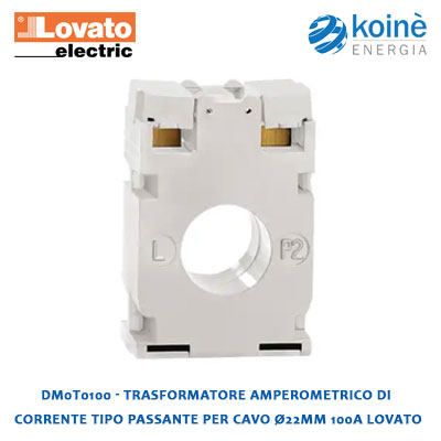 DM0T0100 Lovato Trasformatore amperometrico