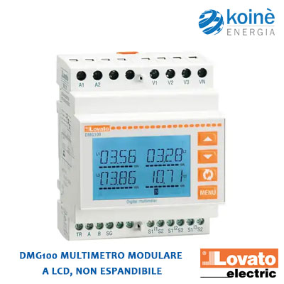 DMG100 LOVATO Multimetro modulare