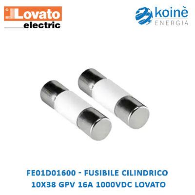 FE01D01600 Lovato fusibile