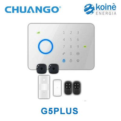 G5PLUS kit allarme chuango
