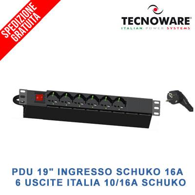 TECNOWARE-PDU-19-INGRESSO-SCHUKO